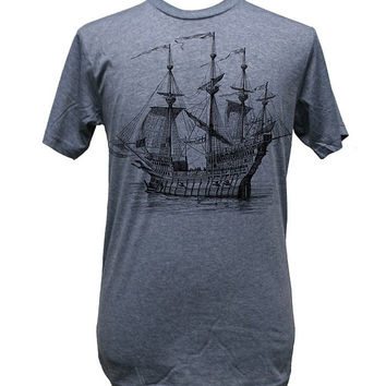 Galleon Ship Mens Tee