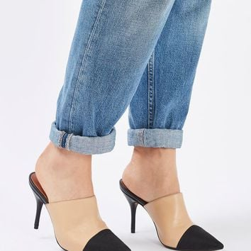 GWEN2 Pointed Toe Cap Mules - Going Out Shoes - Shoes