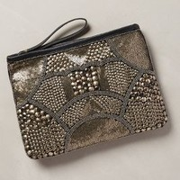 Bohdana Stud Clutch by Anthropologie Black One Size Clutches