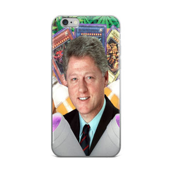 Bill Clinton Vaporwave Yugioh Cards 40oz Beer Bottles Double Cup Lean Promethazine Codeine Purple Drink Weed Marijuana Cannibus Leaf Leaves Logo Collage iPhone 4 4s 5 5s 5C 6 6s 6 Plus 6s Plus 7 & 7 Plus Case