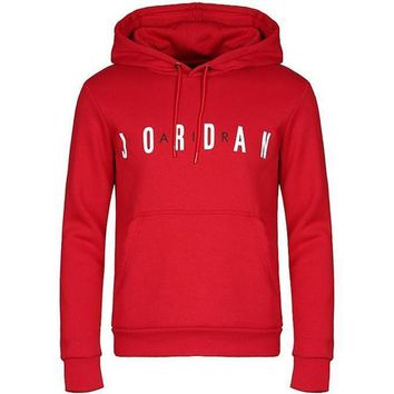Jordan Men Fashion Cotton Top Sweater Hoodie