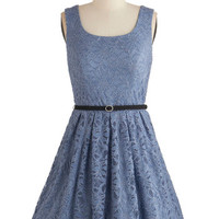 ModCloth Vintage Inspired Sleeveless A-line Violin Virtuoso Dress