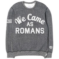 Varsity Custom Heather Grey Crewneck : WCAR : MerchNOW