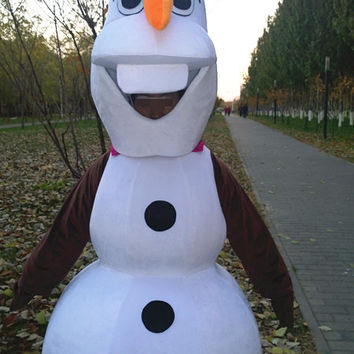Frozen Olaf Mascot Costumes,Olaf Cosplay Costumes,Olaf Christmas Costumes,Olaf Party Costumes,Olaf Cosplay,Olaf Clothing,Adults Costumes Cos