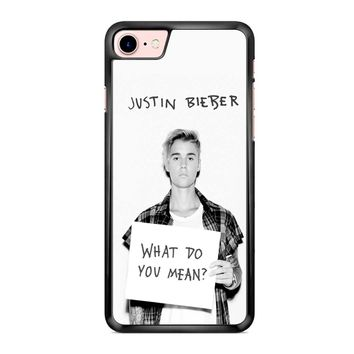 Justin Bieber What Do You Mean iPhone 7 Case