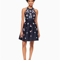 pom embroidered dress | Kate Spade New York