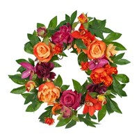 Tropic Rose Mix Wreath