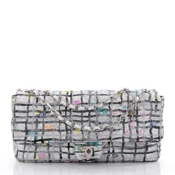 Chanel Pre-Owned: Graffiti Flap Bag Quilted Calfskin Medium | Bluefly.Com