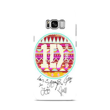 One Direction 1D Aztec Samsung Galaxy S8 | Galaxy S8 Plus Case