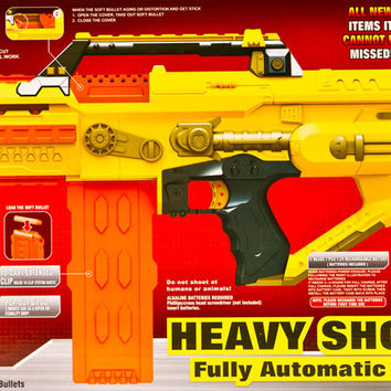 Heavy shock wave - Fully Automatic soft bullet gun