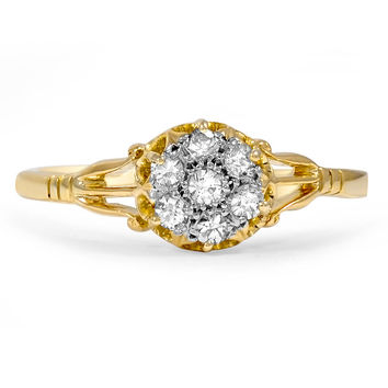 18K Yellow Gold The Flor Ring