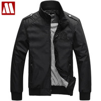 Fashion Clothes Man Jacket College Men Coat Polo Jackets Men Sportswear Windcheater Military Clothing