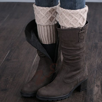 Gaiters Crochet Knit Boot Cuffs Boot Socks Crochet Free Patterns Thermal Boot Covers Short Leg Warmers