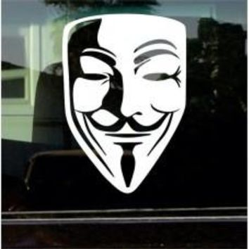 V for Vendetta Vinyl Decal Sticker car wall