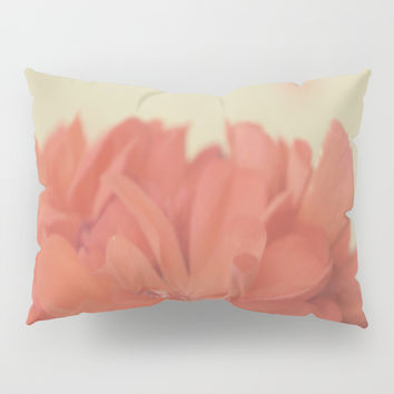 Zonal Pelargonium Flower Pillow Sham by ARTbyJWP