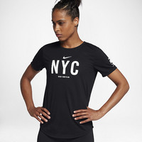 The Nike Dry NRC (NYC) Women's Running T-Shirt.