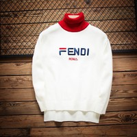 Fendi Women men Sweater Pullover Sweatshirt