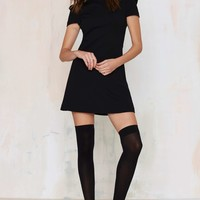 Nasty Gal Perfect Form Mini Dress - Black