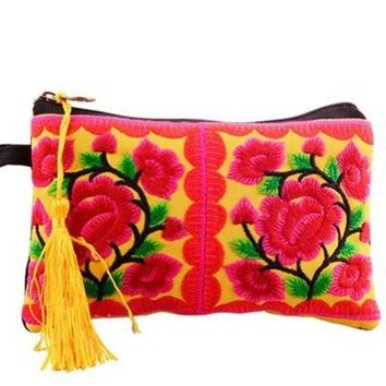 Fancy Embroidered Pouch