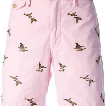 Polo Ralph Lauren 'Greenwich' Embroidered Duck Shorts