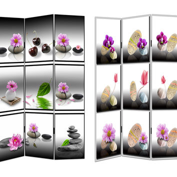 Enthralling Room Divider - Spa Theme