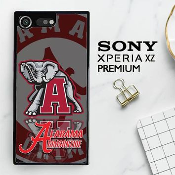 Alabama Crimson Tide X3309 Sony Xperia XZ Premium Case
