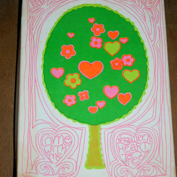 Stationary Set by Mead Products ~ Montag's Sweetheart Tree ~ Vintage 1970's New Old Stock