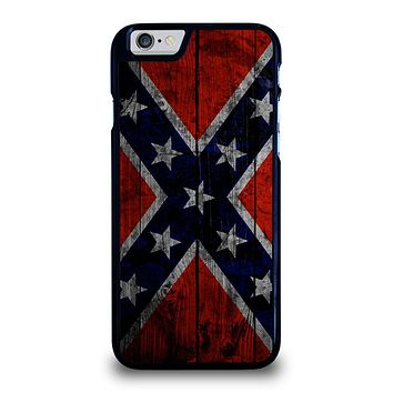 WOODEN REBEL FLAG iPhone 6 / 6S Case Cover