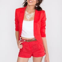 This Is It Blazer - Coral