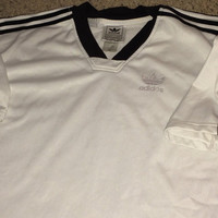 Sale!! Vintage ADIDAS Originals T shirt Retro 80s 90 clothing Soccer Football Jersey