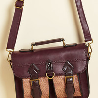 Dwelling a Tale Bag in Maroon | Mod Retro Vintage Bags | ModCloth.com