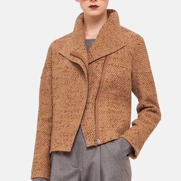Women's Akris punto Boucle Knit Jacket,