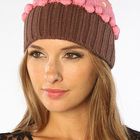 The Cupcake Beanie in Strawberry