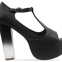 Jeffrey Campbell Foxy Grad in Black at Solestruck.com