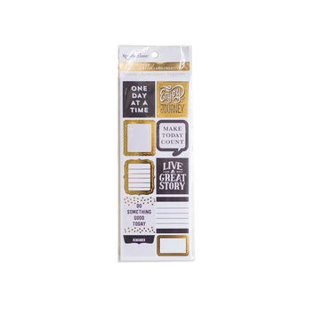 Creative Year Black & Gold Stickers By Recollections™