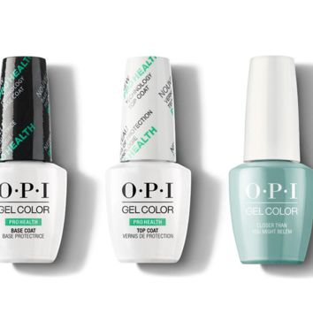 OPI - GelColor Combo - Base, Top & Closer Than You Might Belem