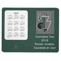 2016 Green Journal Calendar by Janz
