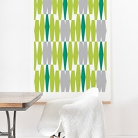 Heather Dutton Abacus Emerald Art Print And Hanger