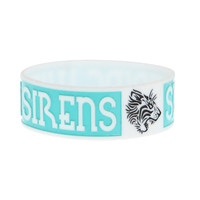 Sleeping With Sirens Tiger Logo Rubber Bracelet | Hot Topic