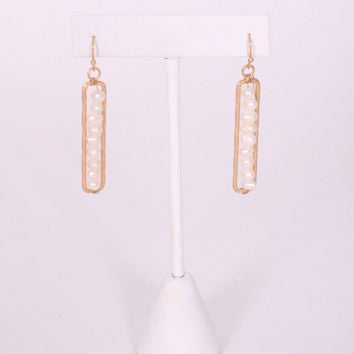 Pearls in a Pod Earrings