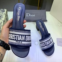 Christian Dior Popular Women Casual Sandals Shoes High Heels