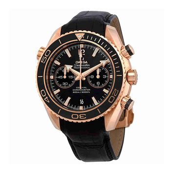 Omega Seamaster Planet Ocean Automatic Black Dial Mens Watch 23263465101001
