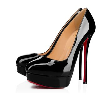 Dirditta 150 Black Patent Leather - Women Shoes - Christian Louboutin