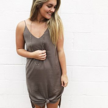Sweeter Than Pie Dress - Olive