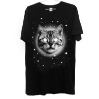 Galaxy Space Cat T-shirt - Galaxy, Space, Outer Space, Cats, Kittens, Fun