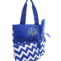 Chevron Diaper Bag - 3 Color Choices