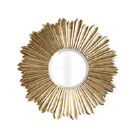 Soliel Large Gold Mirror - Neiman Marcus