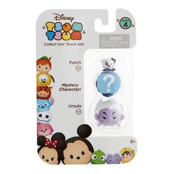 Patch and Ursula Disney Tsum Tsum Series 4 Minifigure 3-Pack