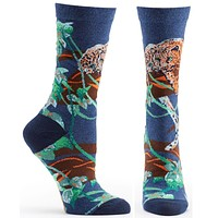 Endangered Cats Jaguar Sock