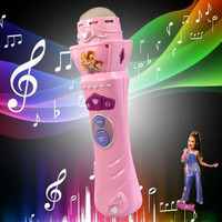 Wireless Girls Boys LED Microphone Mic Karaoke Singing Kids Baby Funny Gift Music Toys = 1945979908